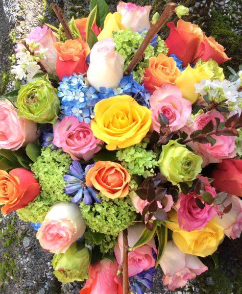 Mixed Rose Kaleidoscope